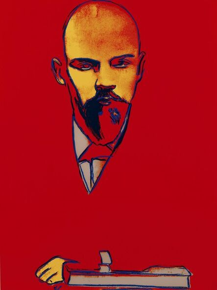 Andy Warhol, 'Red Lenin (FS I.403)', 1987