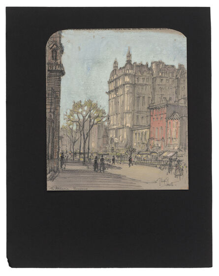 Jules Andre Smith, 'The Ansonia Hotel (1899)', ca. 1915
