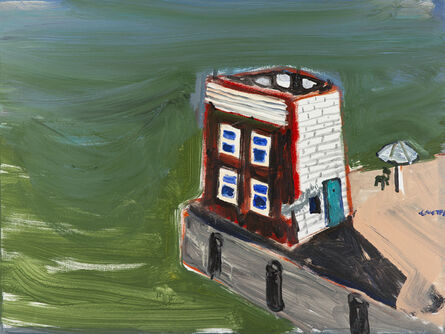 Gustas Jagminas, 'That Embankment (House By Lagoon)', 2020