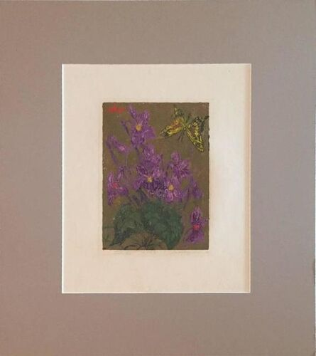 Joseph Domjan, 'Violets', 20th Century