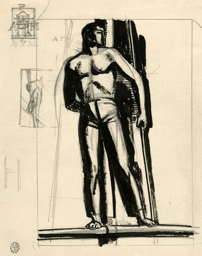Rockwell Kent, '[The Lookout, Related Studies]', ca. 1930
