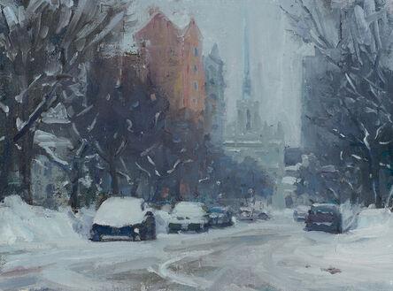 Carl Bretzke, 'Winter Sketch on Douglas Avenue', 2017