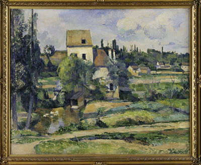 Paul Cézanne, 'The Mill on the Couleuvre near Pontoise', about 1881