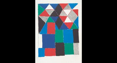 Sonia Delaunay, 'Ecossais (Scottish)', circa 1970