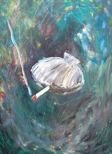 Club Paint, 'Smoking Clam', 2012