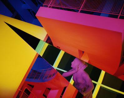 Barbara Kasten, 'Architectural Site 17, August 29, 1988', 1988