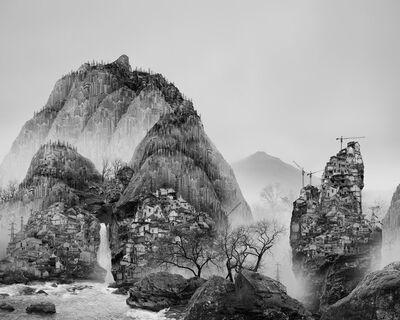 Yang Yongliang 杨泳梁, '太古蜃市 - 泉 Time Immemorial - The Spring', 2016