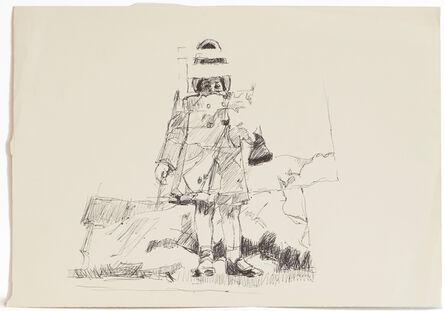 Darrel Ellis, 'Untitled (Laure holding Bunny)', ca. 1990