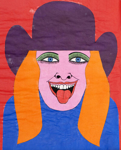 Larry Lewis, 'Untitled (Head: Woman with Red Hair)', ca. 1970