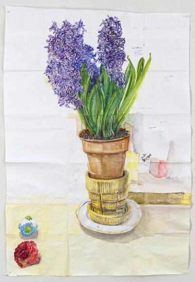 Dawn Clements, 'Hyacinth, Camilia, and Sugar Egg', 2014