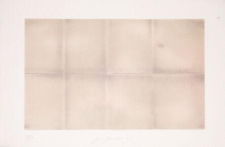 Joe Goode, 'Grey Folded Clouds - III Pink and Green', 1971