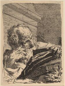 Paul Troger, 'A Philosopher', 1720s