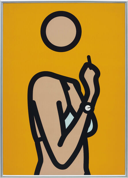 Julian Opie, 'Ruth with Cigarette 3', 2005-2006