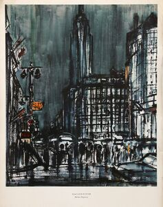 Burhan Dogançay, '42nd and Fifth Ave.', ca. 1964