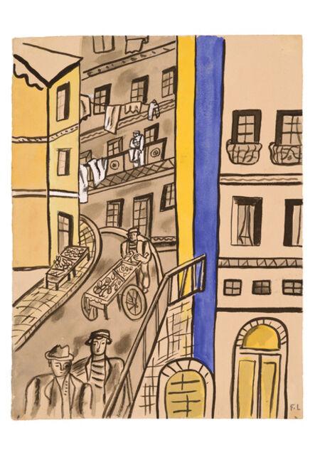 Fernand Léger, 'La Rue', 1950-1955