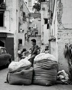 Elio Ciol, 'Venditore Di Lana (Wool Vendor)', Amalfi 1957