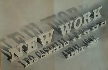 Roy Lichtenstein, 'New Work,  historic Leo Castelli exhibition invitation', 1967