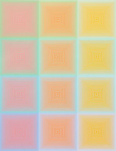 Richard Anuszkiewicz, 'Inward Eye #9', 1970