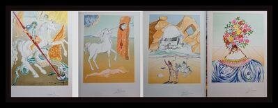 Salvador Dalí, 'Retrospective Complete Suite 4 Pieces', 1978