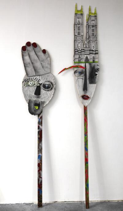 Mattia Biagi, 'Muso 1 & Muso 2', 2015