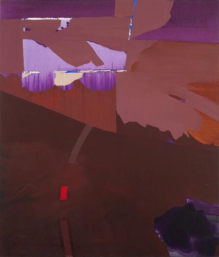 Dorothy Hood, 'Brown Kinetic', 1982