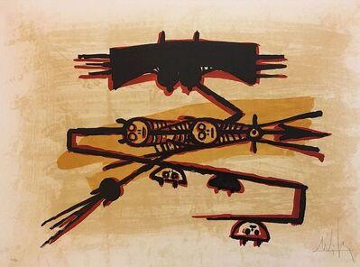 Wifredo Lam, 'El último viaje del buque fantasma 3', 1976