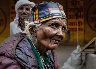 Neil O. Lawner, 'Portrait #13 India', 2020