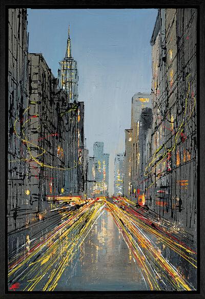 Paul Kenton, 'Downtown Streaming', 2019