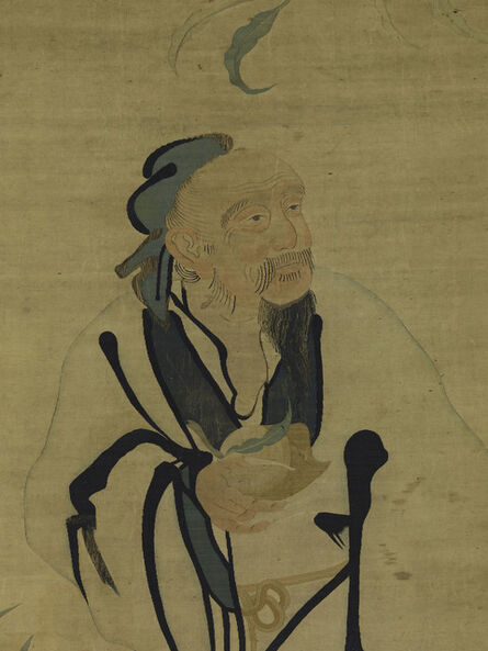 'Immortal Holding a Peach', 16th century