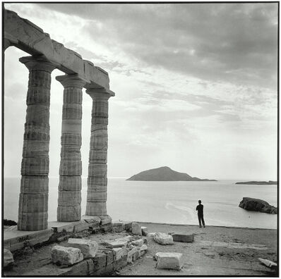 Robert McCabe, 'Sounion, At the temple of Poseidon', 1955