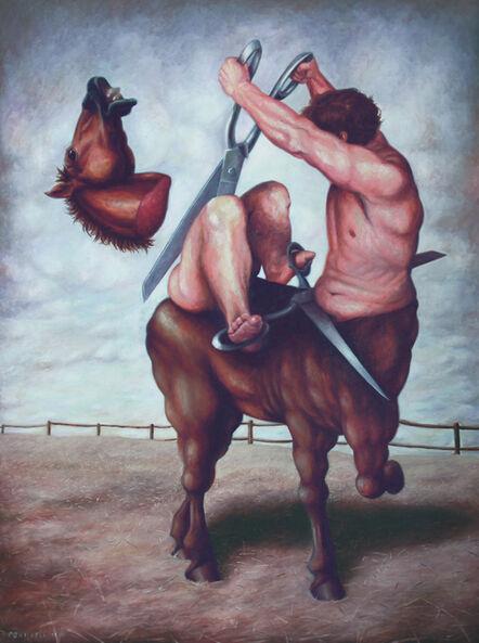 Bruno Pontiroli, 'Le cavalier sans tête', 2010