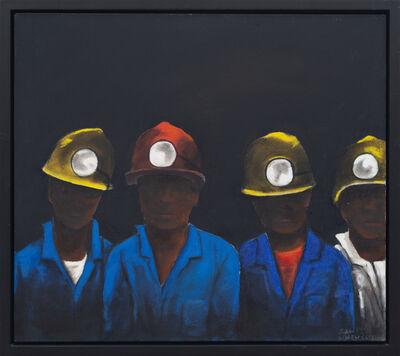 Sam Nhlengethwa, 'Untitled IV (After the Mine Trip)', 1999