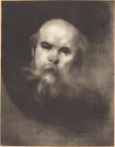 Eugène Carrière, 'Paul Verlaine'