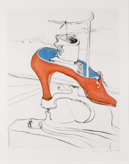Salvador Dalí, 'La Malediction Vaincue from Apres 50 Ans du Surrealisme'
