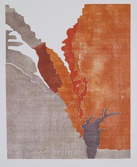 Richard Dunn, 'Redbank Gorge 1936 (after Albert Namatjira)', 2011