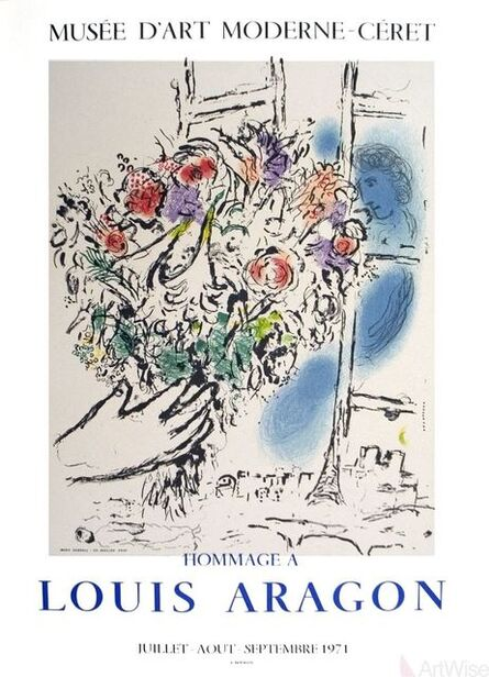 Marc Chagall, 'Floral Offering', 1971