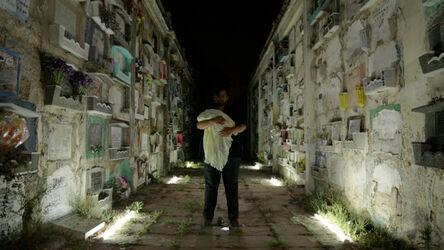 Naufus Ramírez-Figueroa, 'Life in his Mouth, Death Cradles her Arm', 2016