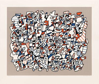 Jean Dubuffet, 'Ontogenese', 1975