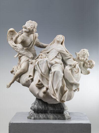 Francesco Maria Schiaffino, 'Transverberation of St Teresa of Avila', 18th Century