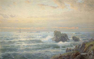 William Trost Richards, 'Rocky Coast with Lighthouse', 1899