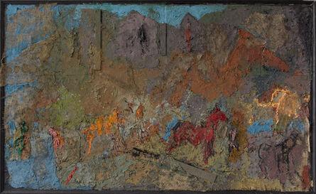 Thaddeus Radell, 'Horses of Olympus', 2018-2019