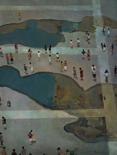Zhou Jinhua 周金华, 'Wet Paradise 湿•乐园', 2017