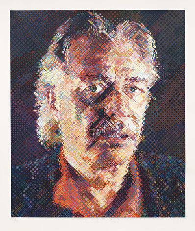 Chuck Close, 'John', 1998