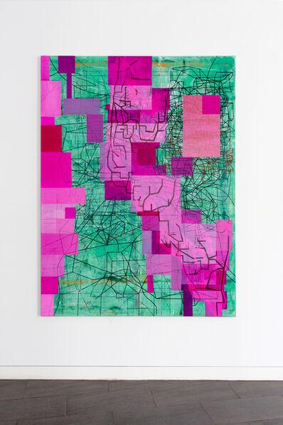 Laurent Ajina, 'Rose Borders, Cholla Cactus Garden', 2020