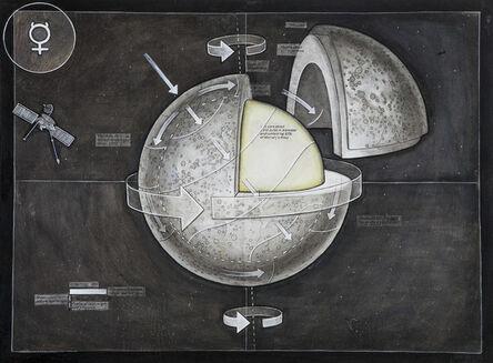 Casey Cripe, 'Planets: Mercury (v.1.1)', 2015