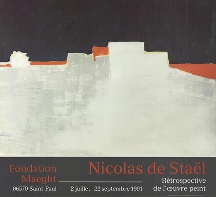 Nicolas de Staël, 'Agrigente', 1991