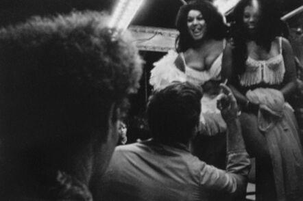 Susan Meiselas, 'The Tease, Essex Jct., VT', 1973