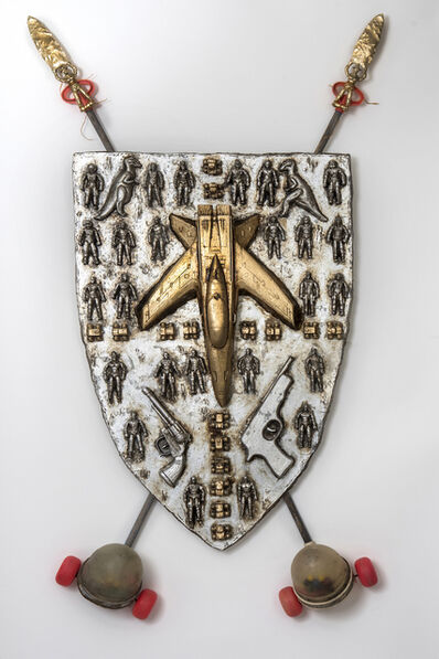 Joshua Goode, 'Coat of Arms of a Young Warrior', 2017