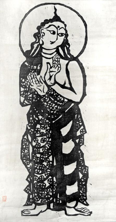 Shiko Munakata, 'Samanthabhadra, Incarnation of Buddha's Fundamental Element', 1960