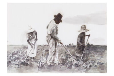 Hung Liu 刘虹, 'The Field', 2017